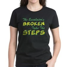 Broken Escalator Use The Steps Tee