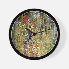 Gustav Klimt Crucifix Wall Clock