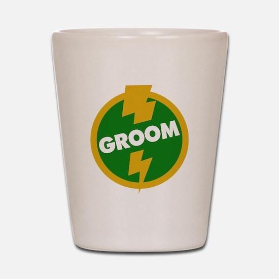 Groom Wedding - Dupree Shot Glass