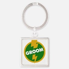 Groom Wedding - Dupree Square Keychain