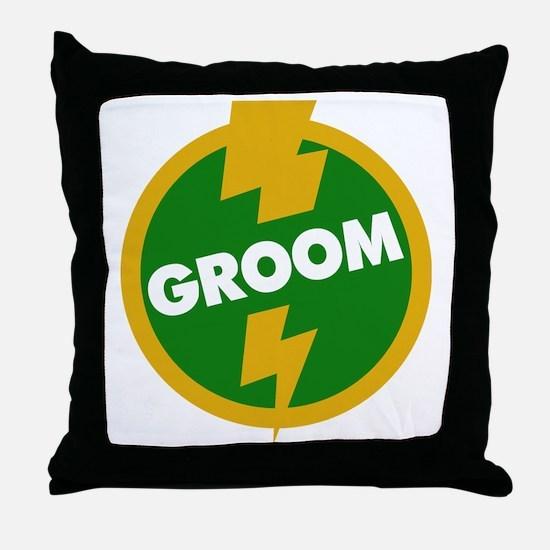 Groom Wedding - Dupree Throw Pillow