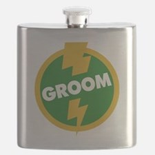 Groom Wedding - Dupree Flask