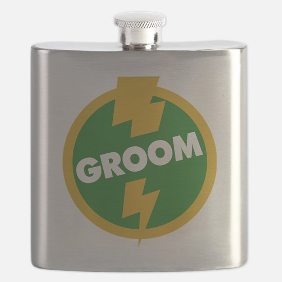 Groom Wedding - Dupree Flask