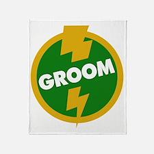Groom Wedding - Dupree Throw Blanket