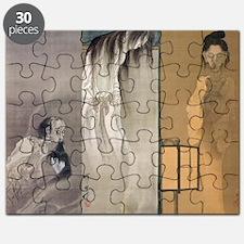 Kawanabe Kyosai Puzzle