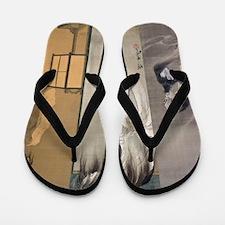 Kawanabe Kyosai Flip Flops