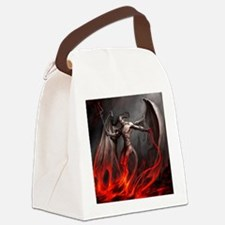 Demon Canvas Lunch Bag