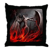 Demon Throw Pillow