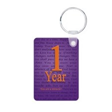 1 Year Recovery Birthday - Keychains