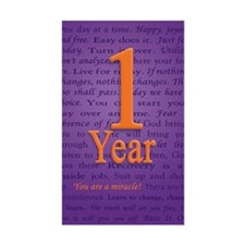 1 Year Recovery Birthday - You Decal