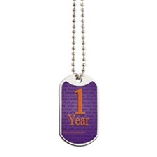 1 Year Recovery Birthday - You are a Mira Dog Tags