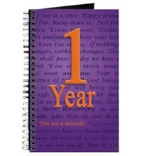 1 Year Recovery Birthday - You are a Mirac Journal