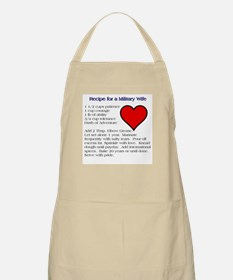 What Makes a Military Wife Apron