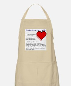 What Makes a Navy Wife Apron