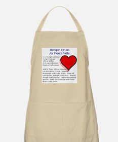 What makes an Air Force Wife Apron
