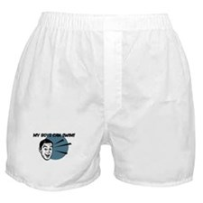 My Boys Can Swim Retro Boxer Shorts