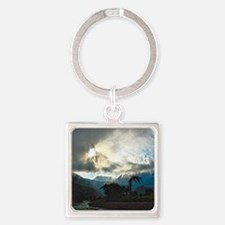 Beyond The Veil Square Keychain
