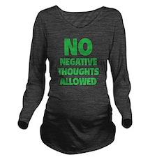 noNegat1E Long Sleeve Maternity T-Shirt