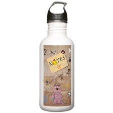 Vintage Chick Back To  Water Bottle