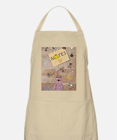 Vintage Chick Back To School Apron