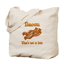 Bacon to Love Tote Bag