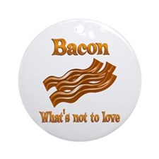 Bacon to Love Ornament (Round)
