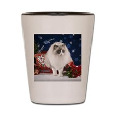 Ragdoll Cat Ornament Shot Glass