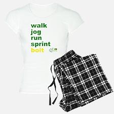 Walk. Jog. Run. Sprint. Bol Pajamas