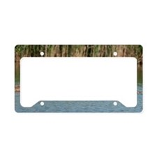 Coozie_Geese_1 License Plate Holder