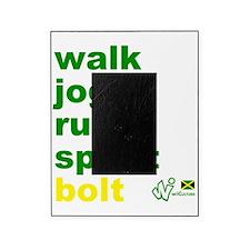 Walk. Jog. Run. Sprint. Bolt. Picture Frame