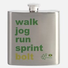 Walk. Jog. Run. Sprint. Bolt. Flask
