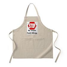 STOP No Treats, Food Allergy Pet/Dog Apron