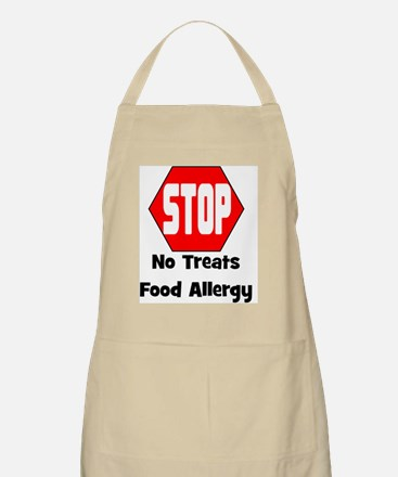STOP No Treats, Food Allergy Pet/Dog Apron