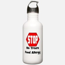 STOP No Treats, Food A Sports Water Bottle
