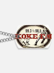 KOKE FM LOGO Dog Tags