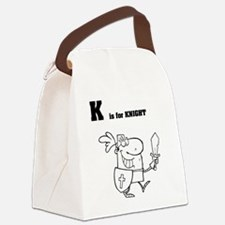 Knight_0043 Canvas Lunch Bag