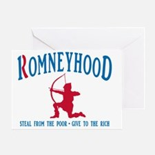 Romney Hood Greeting Card