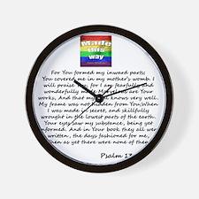 Made this way - back Wall Clock