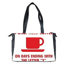 CoffeeLetter1D Diaper Bag