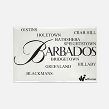 Barbados Cities Rectangle Magnet