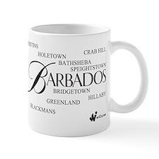 Barbados Cities Small Mug