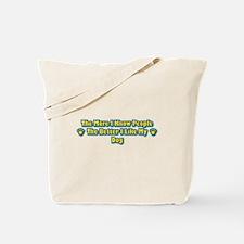 Like Dog Tote Bag