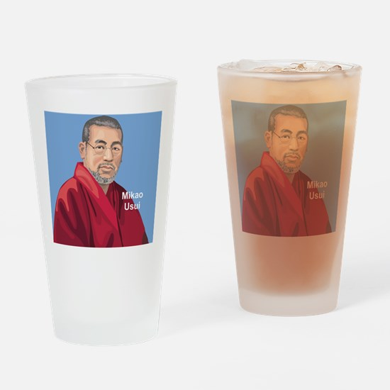 Mikao Usui Reiki, Drinking Glass