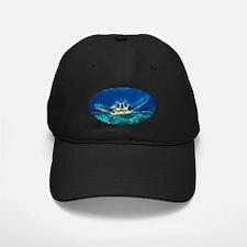 aquatic sea turtle Baseball Hat