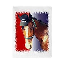 USA Equestrian Horse Twin Duvet