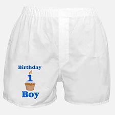 1 year old Birthday boy Boxer Shorts
