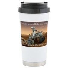 Curiosity went all the way to M Travel Mug