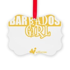 Barbados Bad Girl Ornament