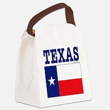 Texas12x12 Canvas Lunch Bag