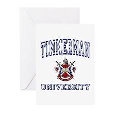 TIMMERMAN University Greeting Cards (Pk of 10)